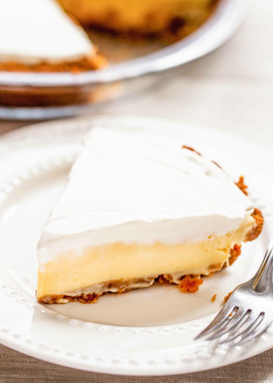 Lemon Ice Box Pie Recipe