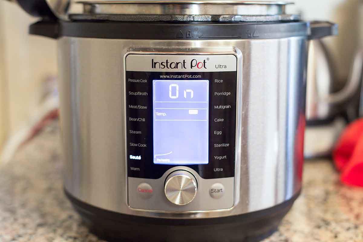 Pressure Cooker Turkey with Dijon Gravy