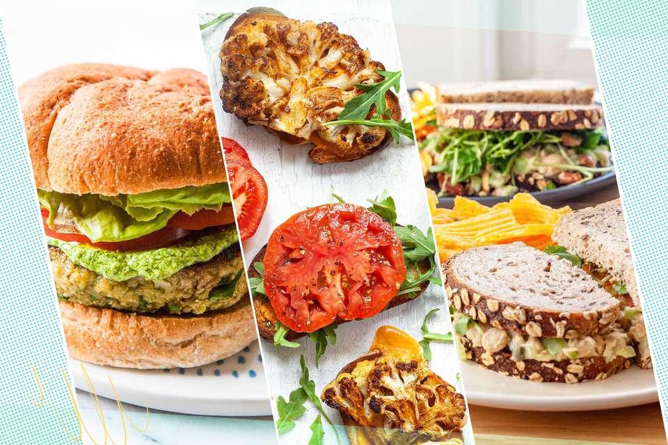 vegetarian sandwich recipes