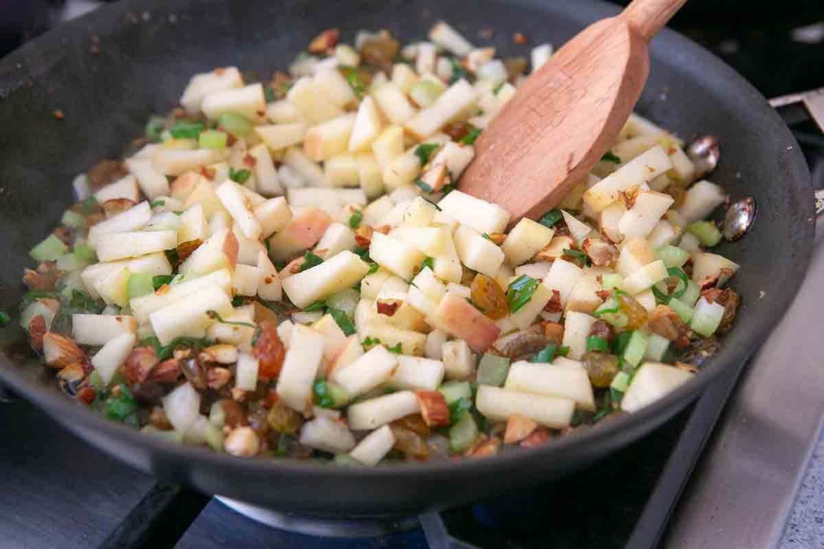 heat mixins for cauliflower couscous