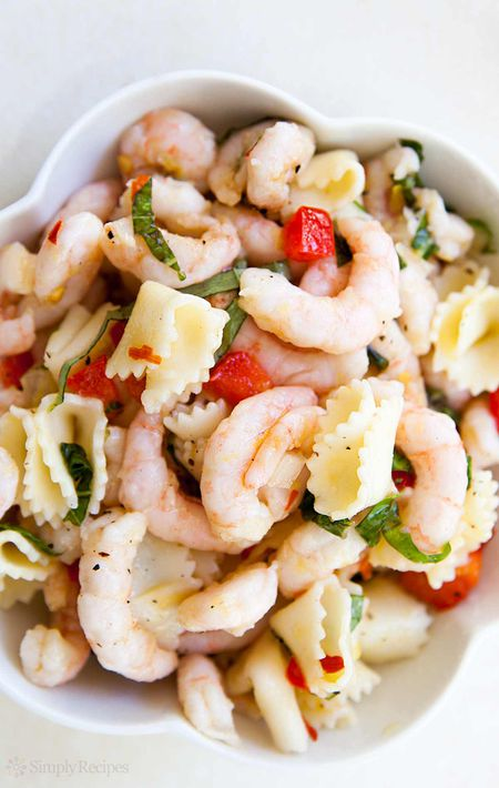 Shrimp Pasta Salad Recipe