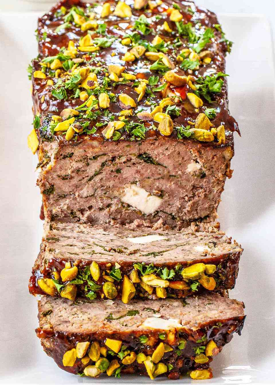 Meatloaf with Spinach