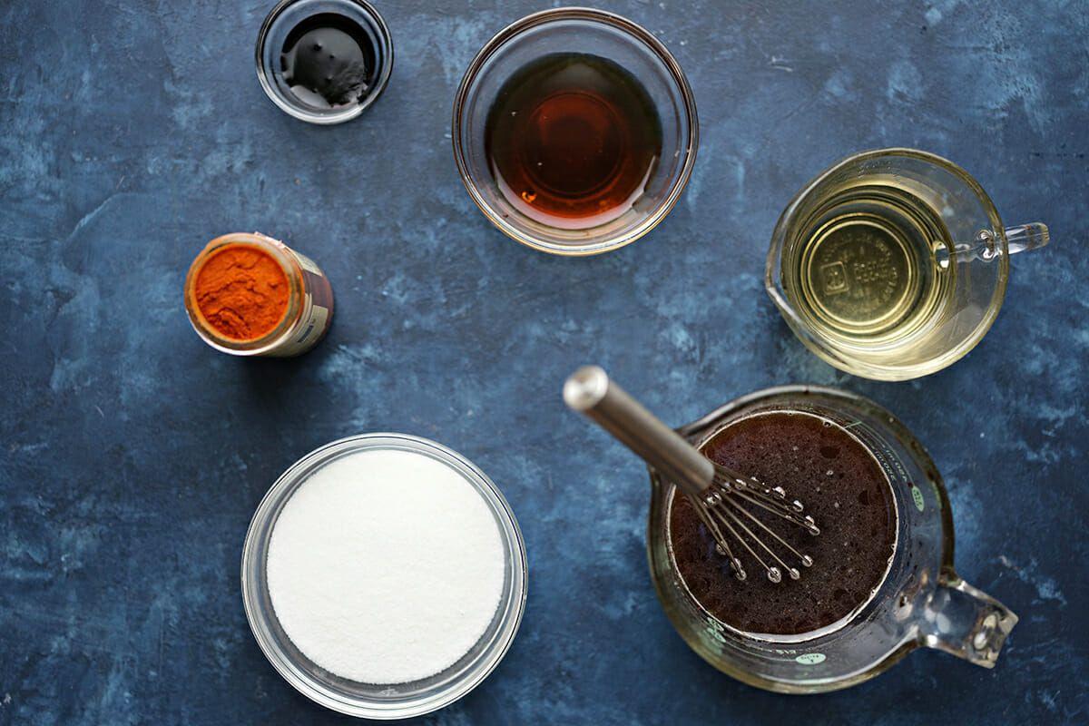 ingredients for pad thai sauce