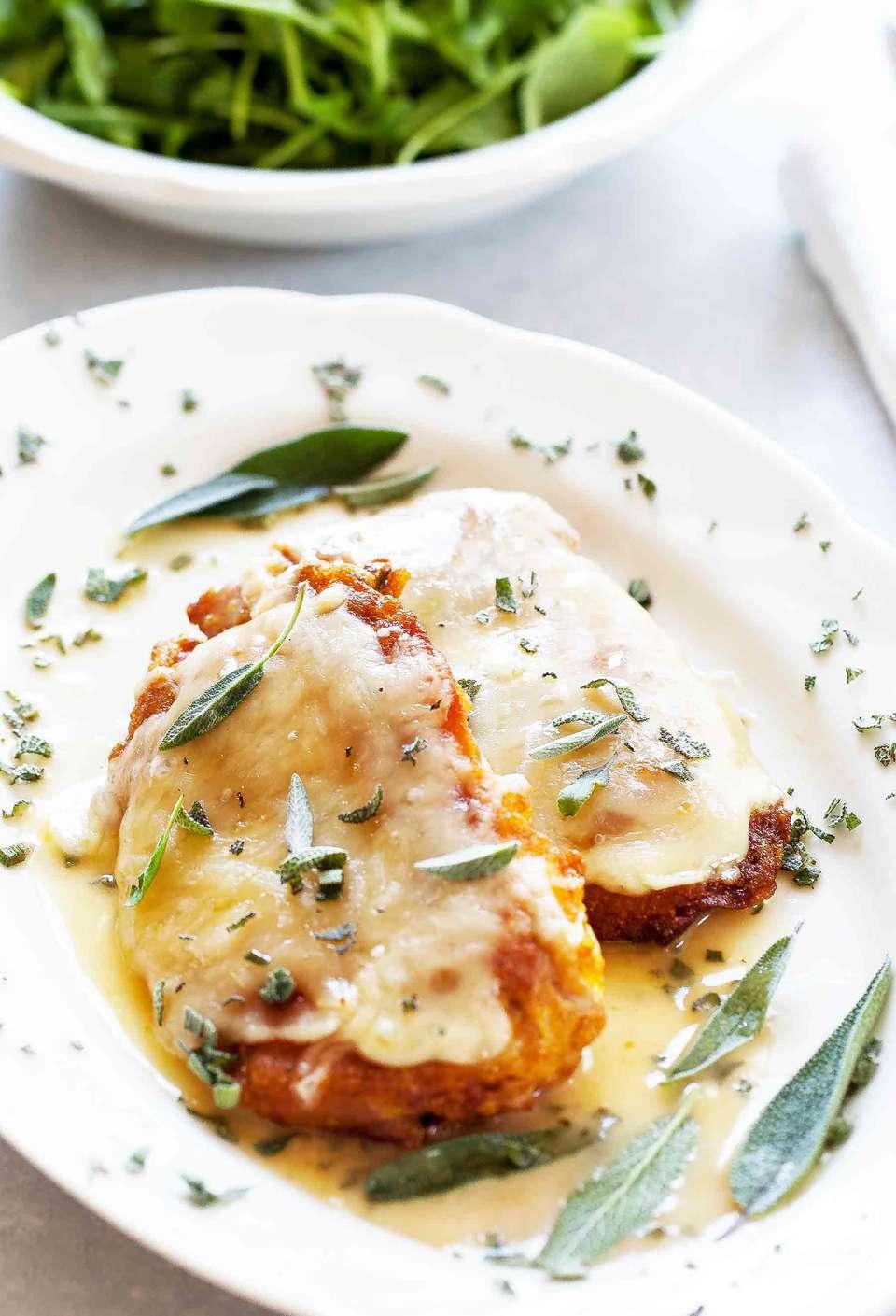 Chicken Prosciutto with Sage