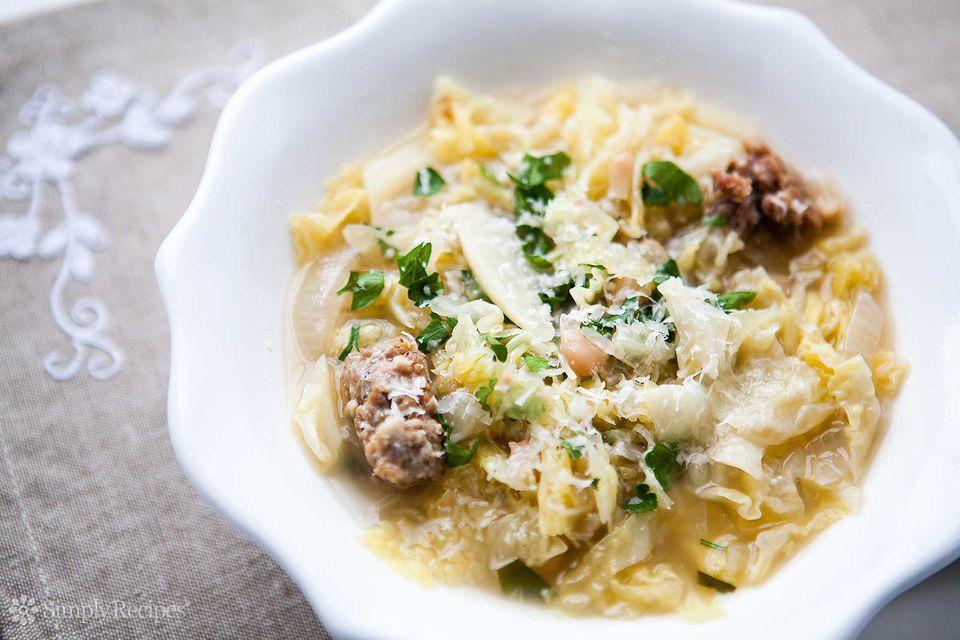 Italian Sausage Cabbage Stew