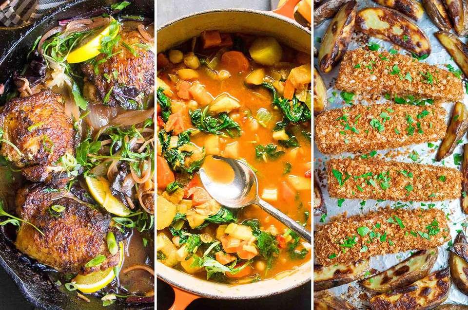 December Meal Plan Week 1