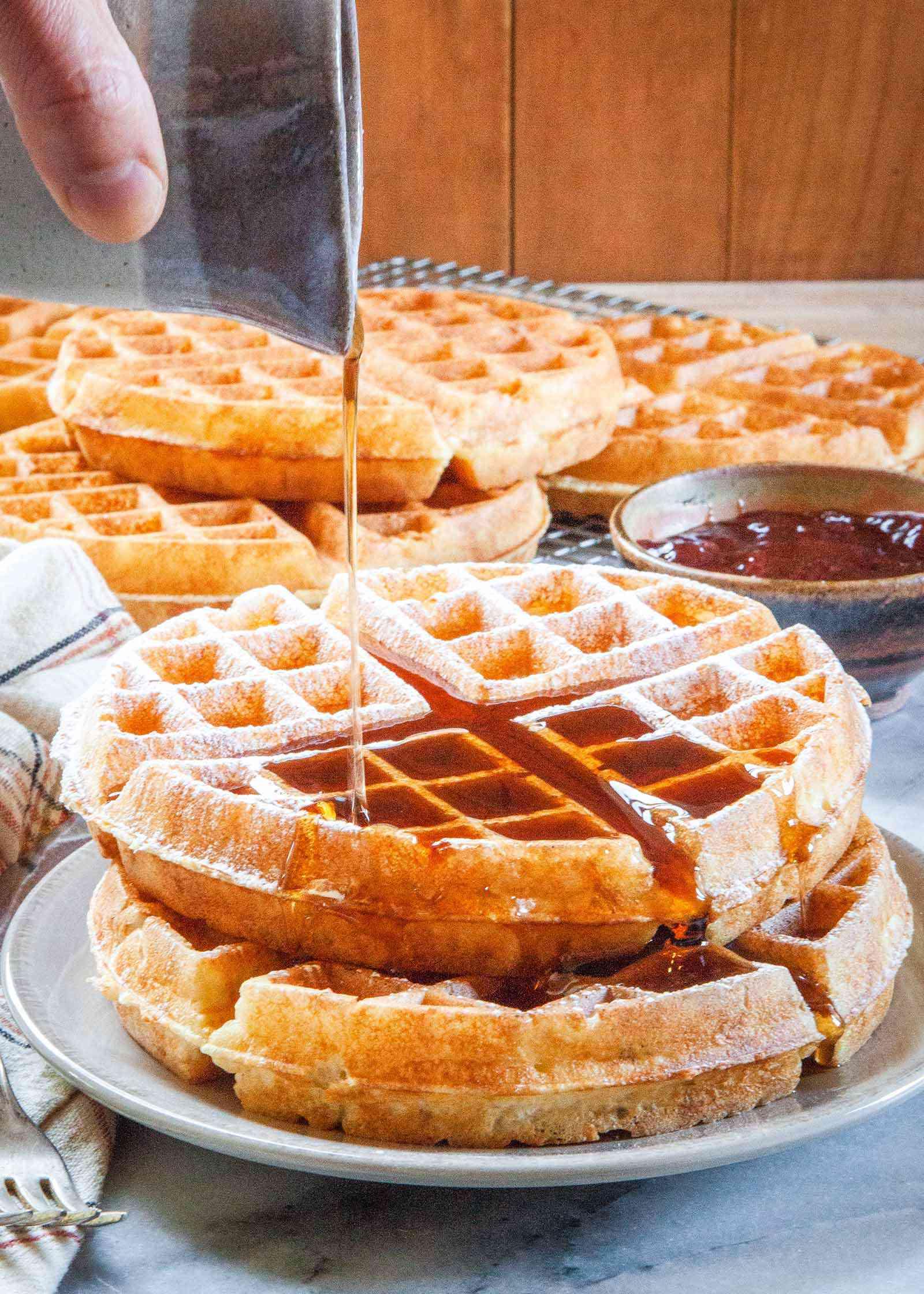 Authentic Belgian Waffles Yeast
