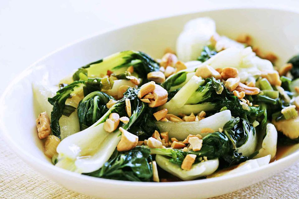 Bok Choy with Cashews