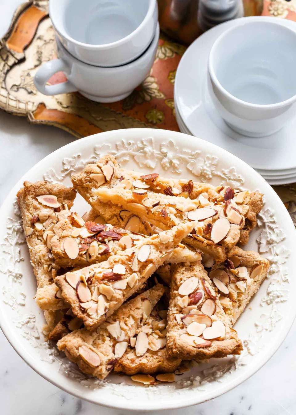 Almond Shortbread Cookie