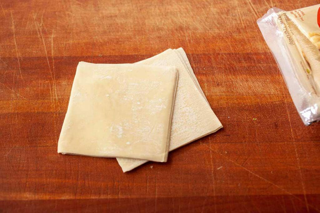 wonton wrapper squares for air fryer cream cheese wontons