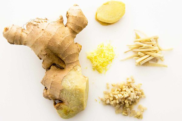 How to Peel, Chop, Grate Ginger