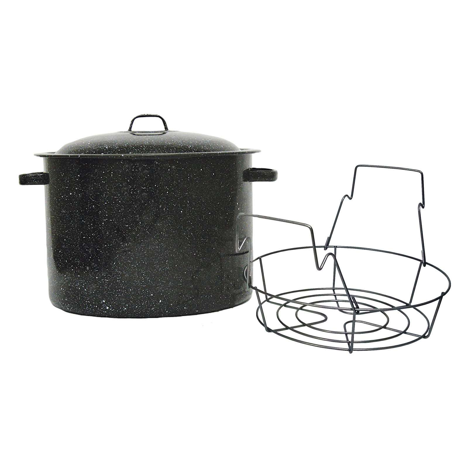 Granite-Ware-12-Quart-Canner-with-Lid-and-Rack