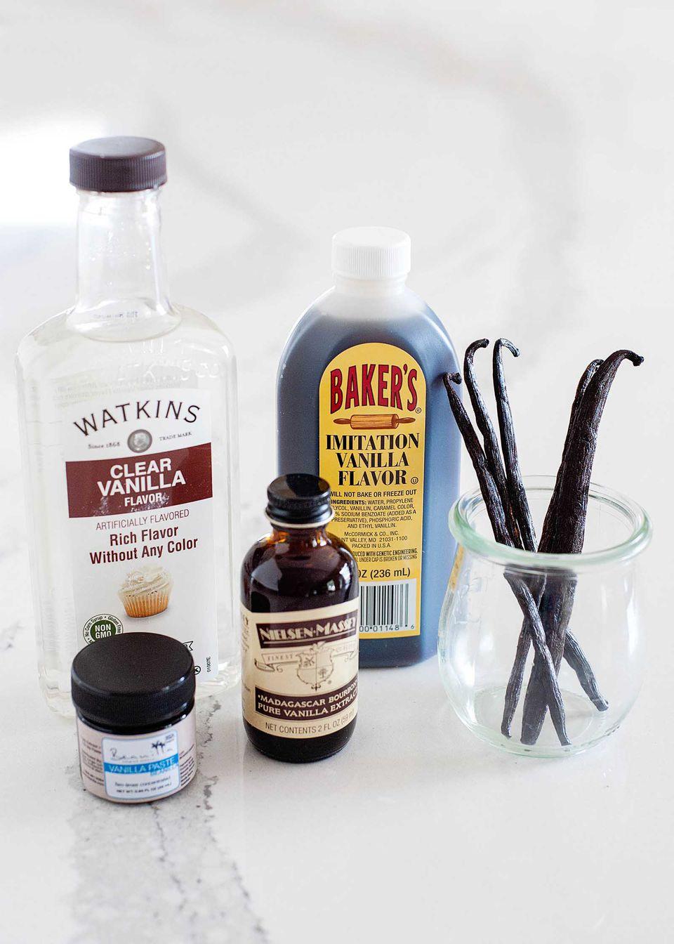 Bourbon vanilla tahitian vanilla clear vanilla imitation vanilla guide