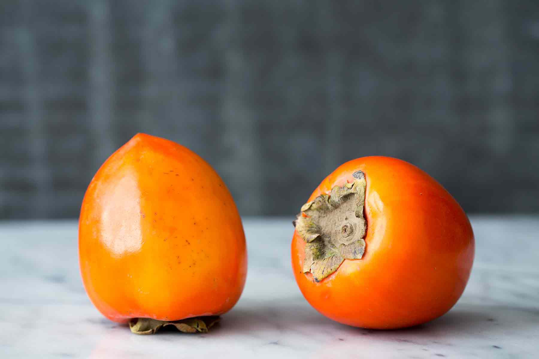 Hachiya Persimmons are acorn shaped