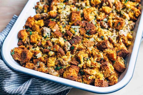 Gluten Free Cornbread Sausage Stuffing Recipe