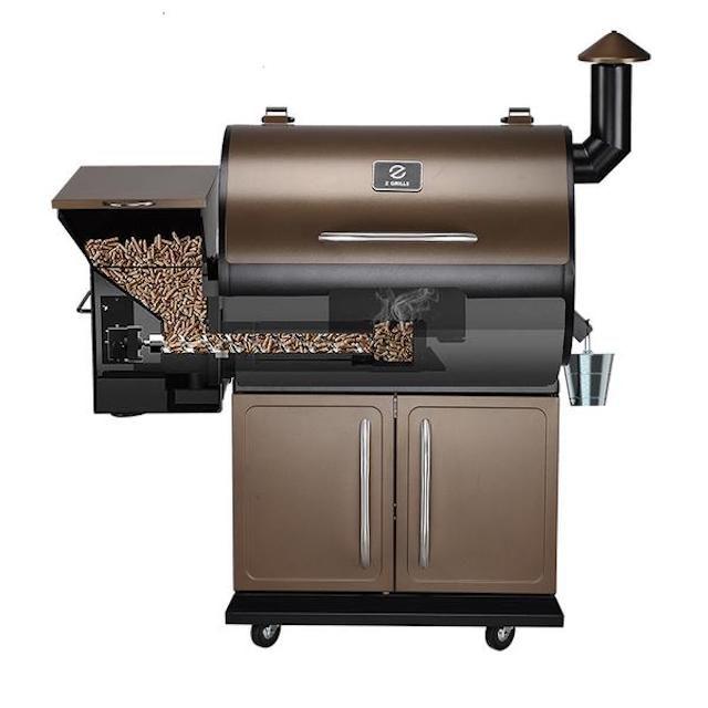 ZGrills Master 700D - 8 in 1 Wood Pellet Grill & Smoker