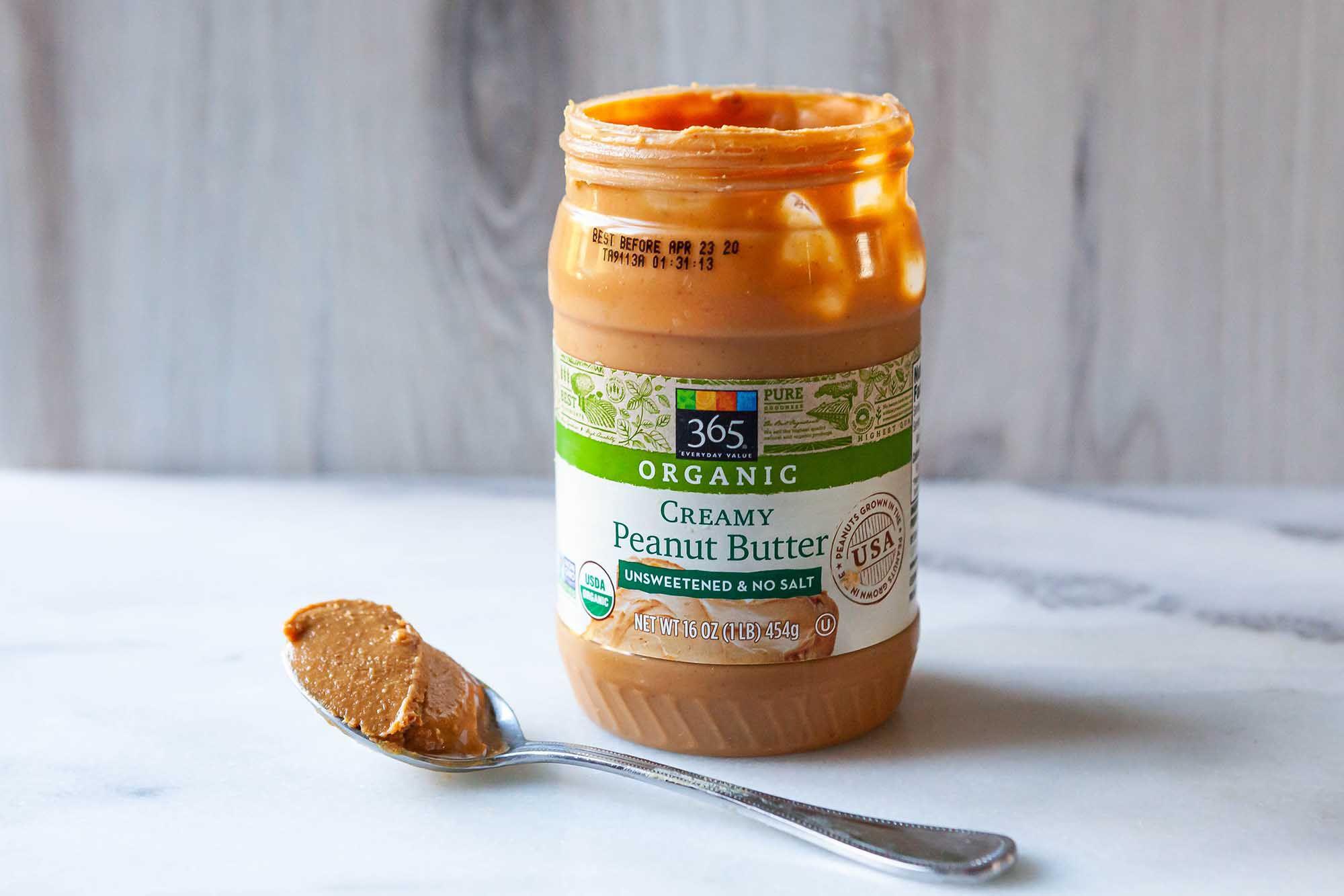 365 Organic Creamy Peanut Butter