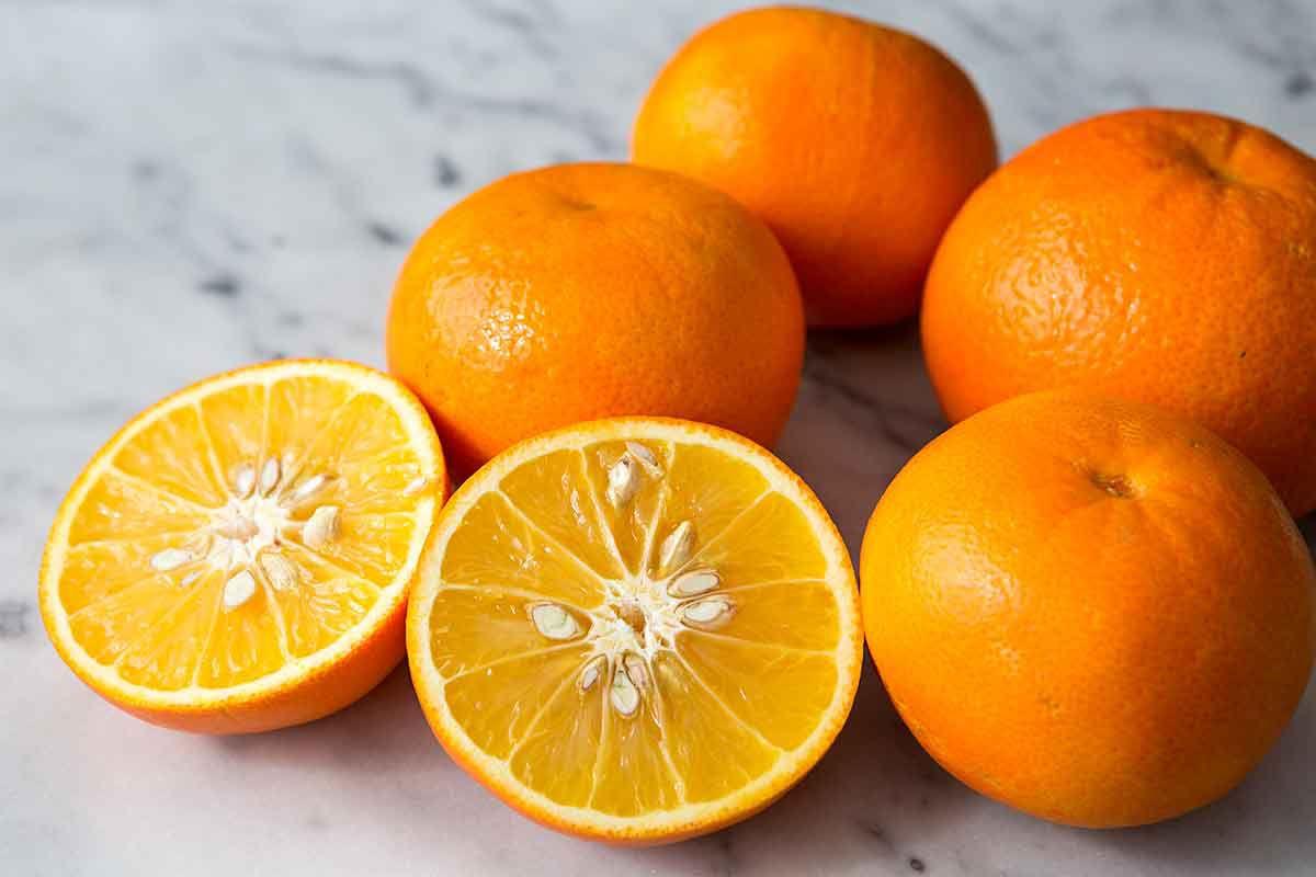 bitter or sour seville oranges