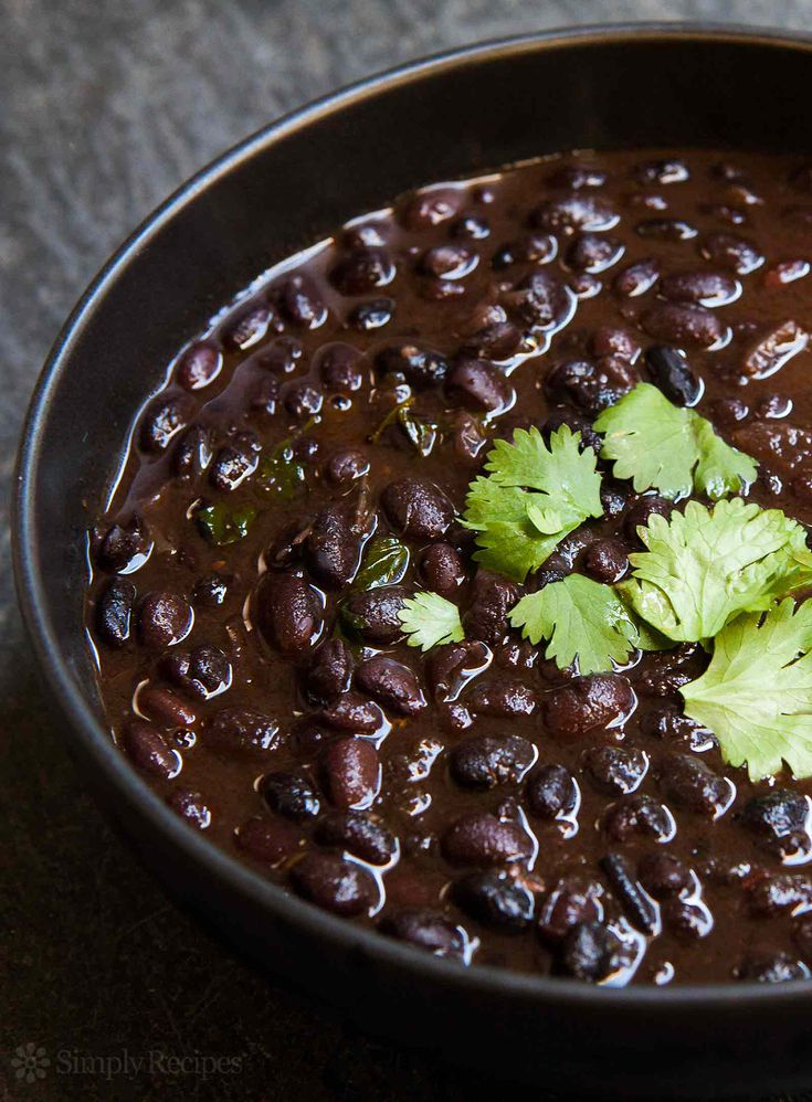 Spicy Citrusy Black Beans Recipe