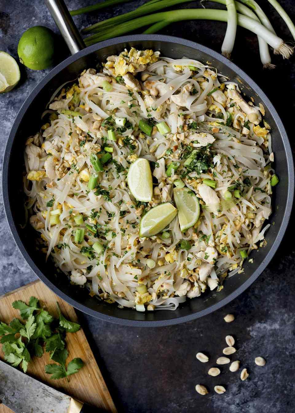 Authentic Chicken Pad Thai Recipe