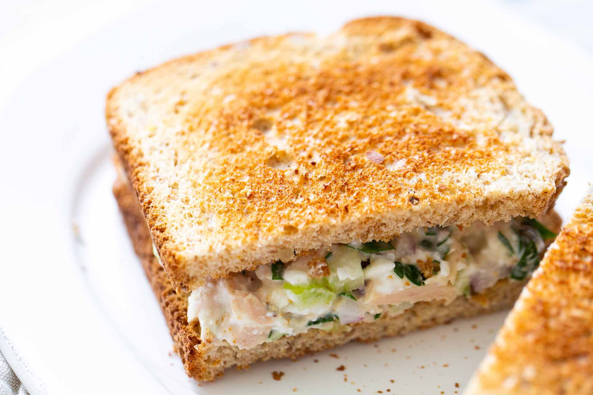 Best Ever Tuna Sandwich Tip Use Cottage Cheese