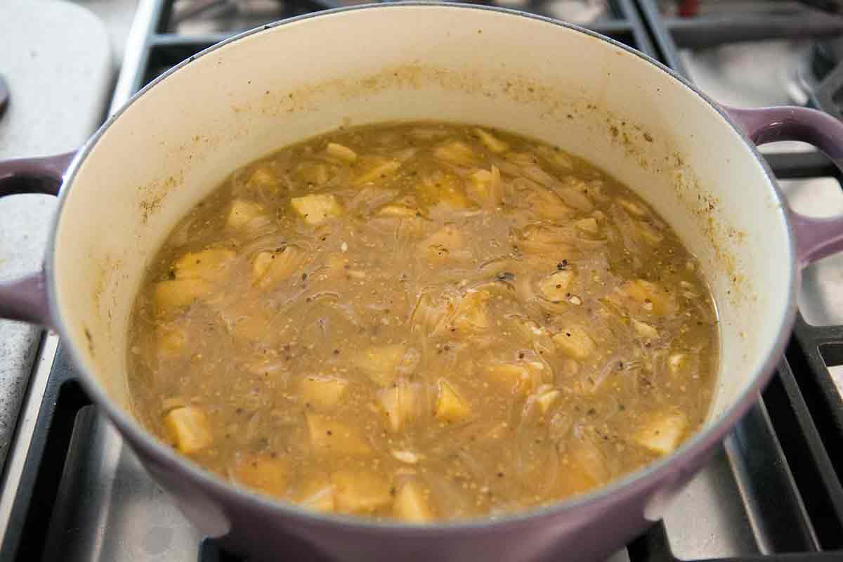 reduce sauce for braised rabbit recipe
