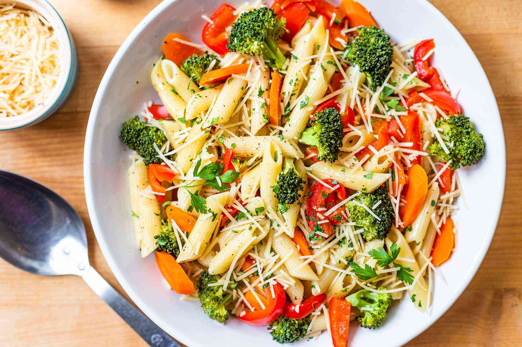 Pasta Primavera in the Pressure Cooker
