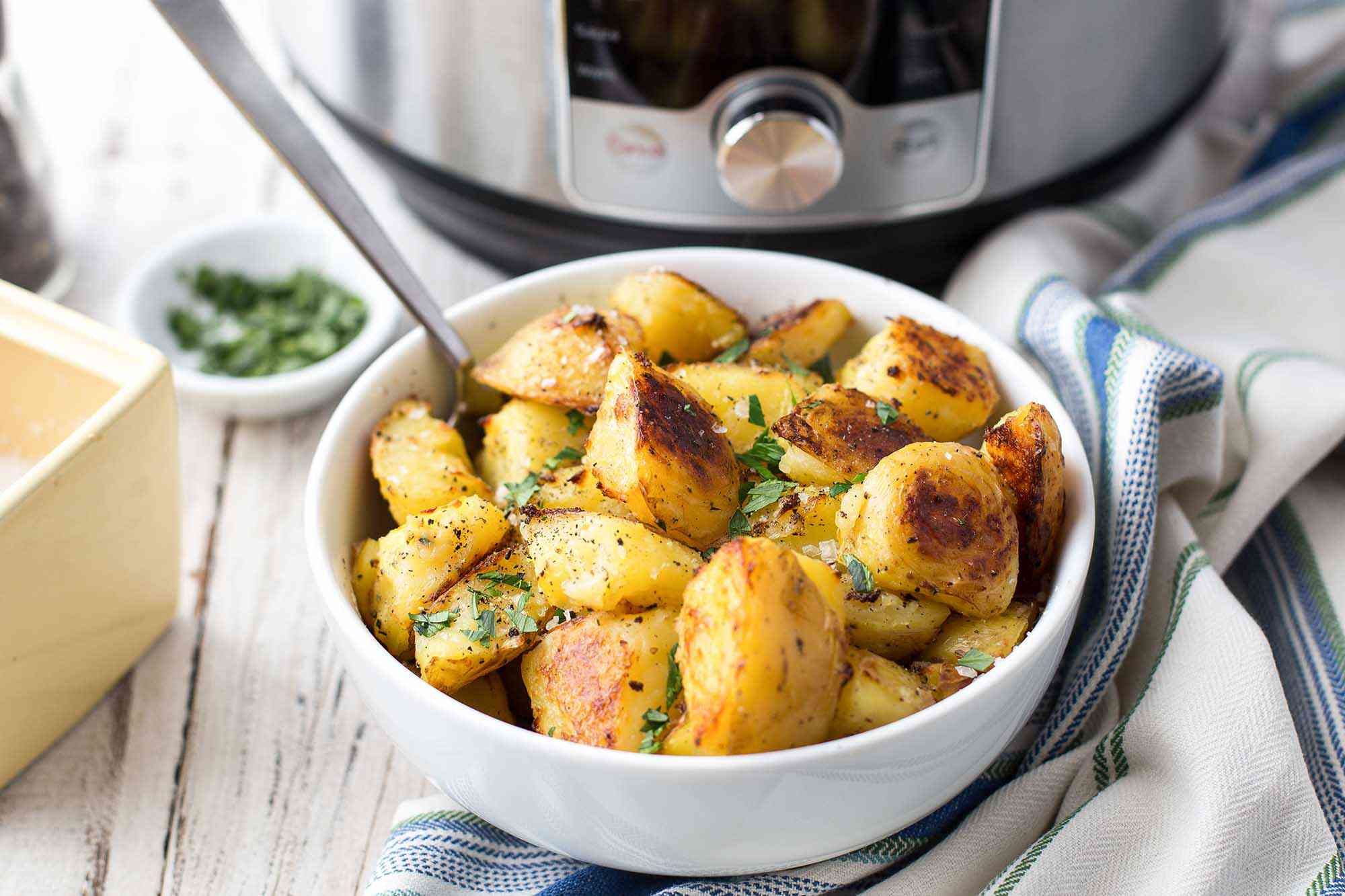 How To Cook Potatoes in the Pressure Cooker