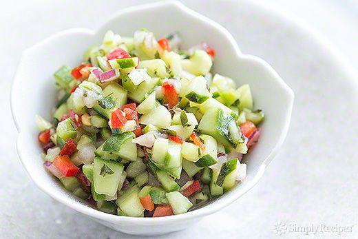 Confetti Cucumber Salsa Recipe