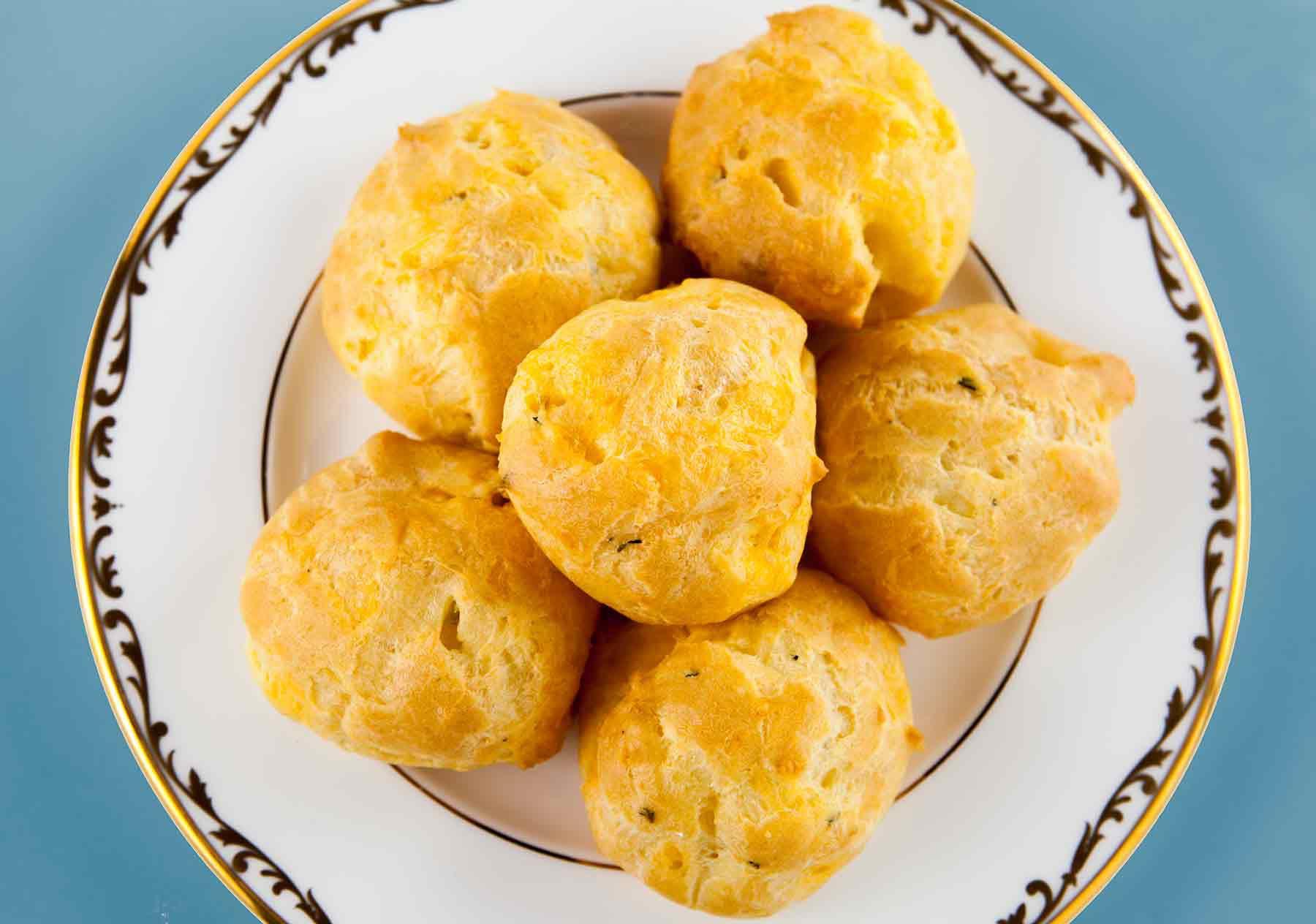 Cheese Puffs Gougeres