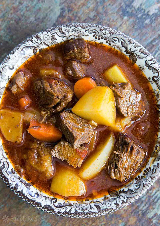 Short Rib Beef Stew Ale