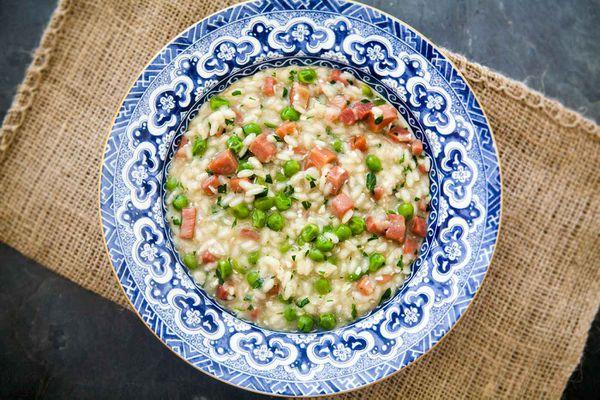 Risi e Bisi Italian Rice and Peas