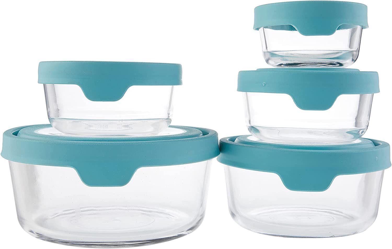 Anchor-Hocking-TrueSeal-10-Piece-Round-Glass-Food-Storage-Set