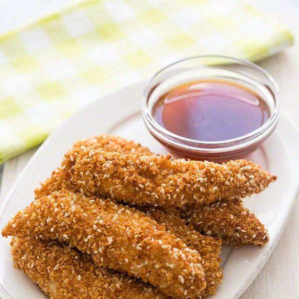 Sesame Chicken Fingers