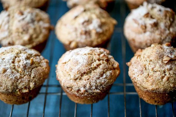 Whole Wheat Muffins with Nuts