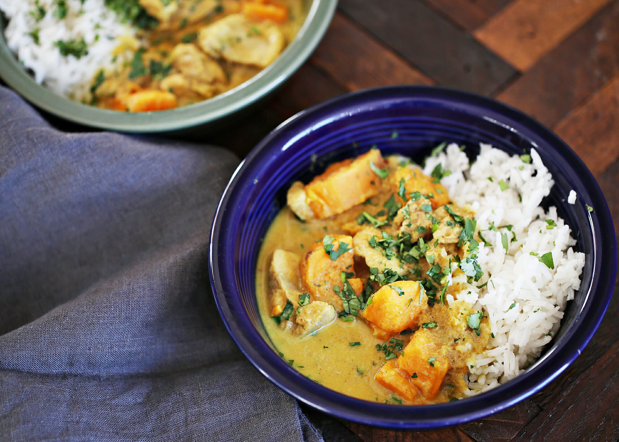 Vietnamese Curry with Chicken