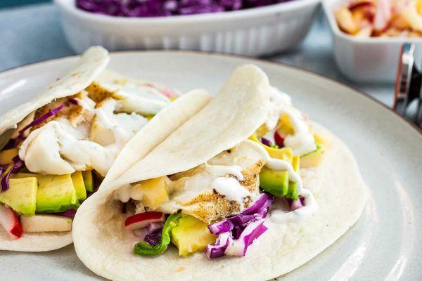 Sous Vide Fish Tacos