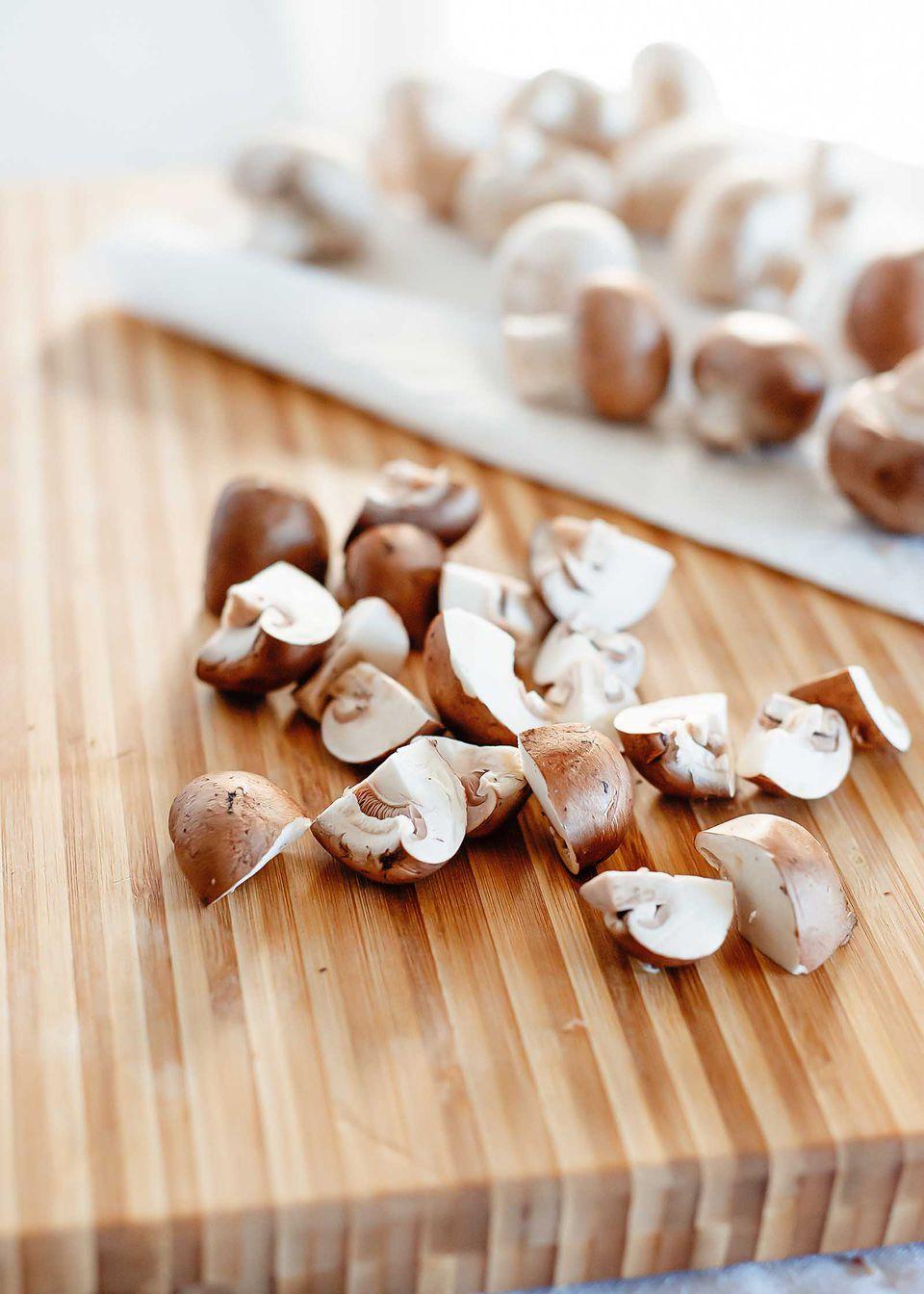 quarter mushrooms