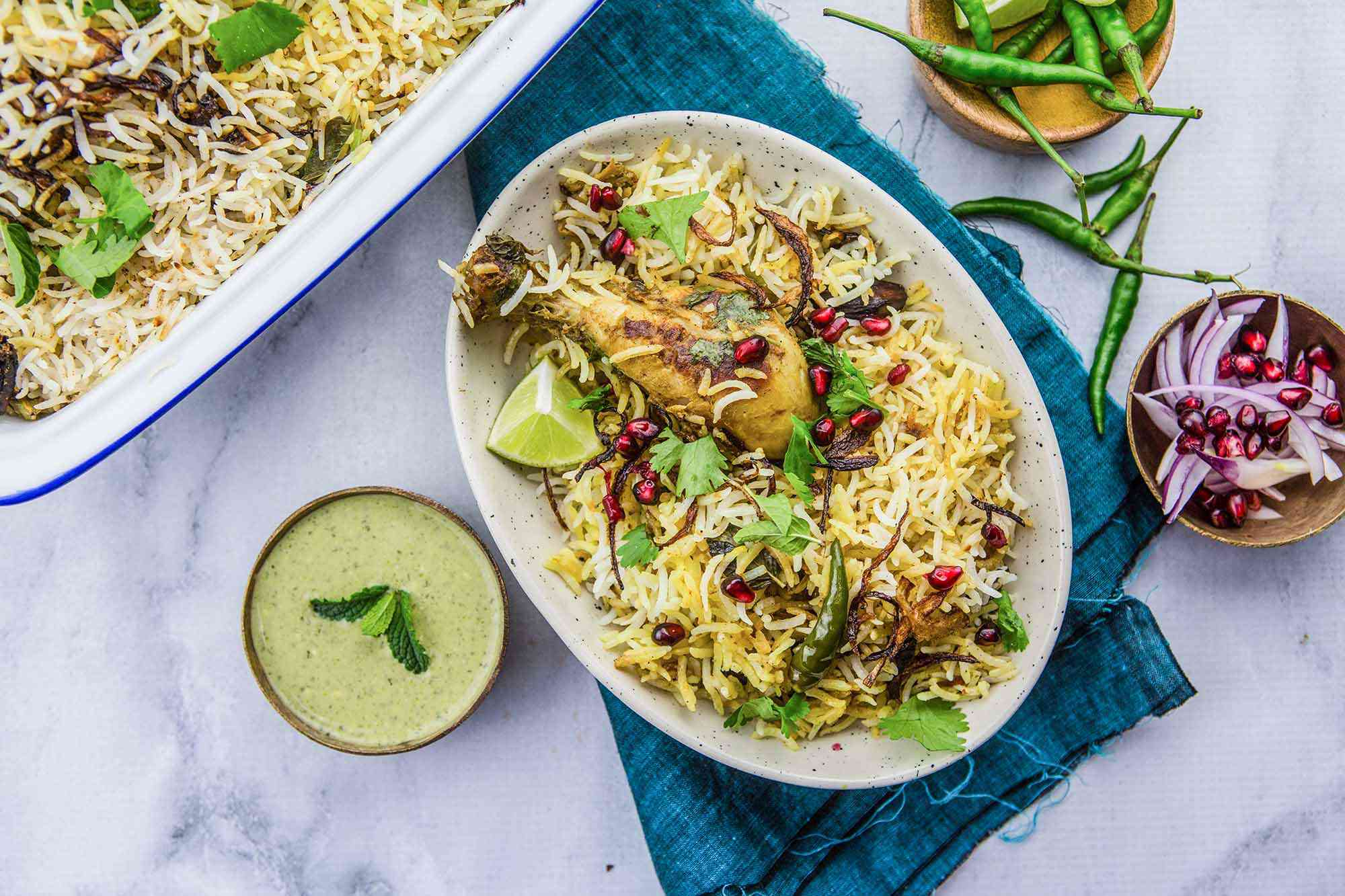 Indian Chicken and Rice Dish
