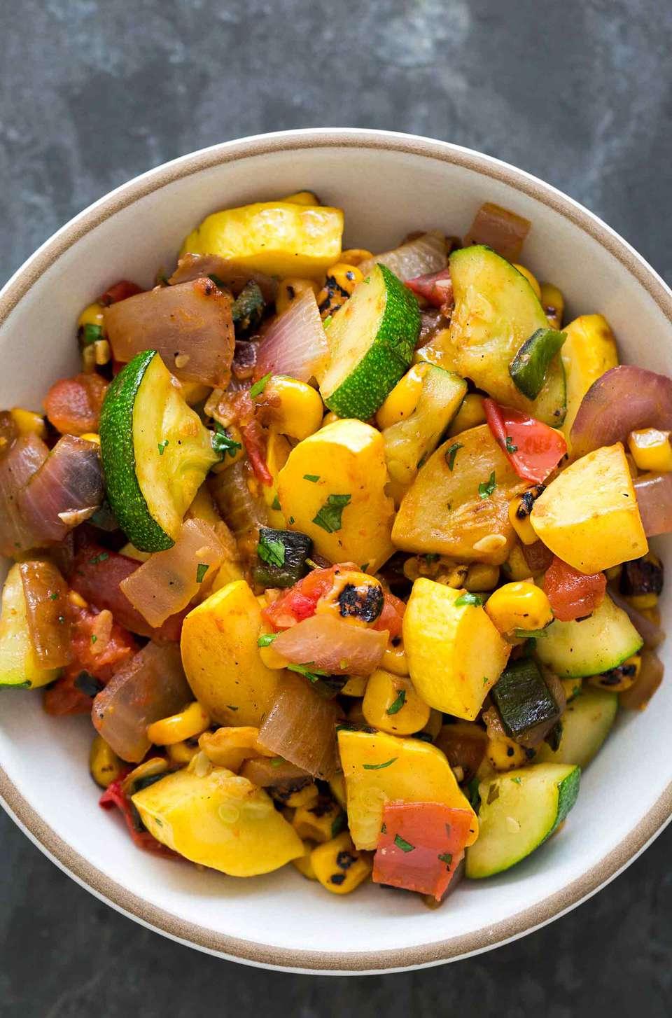 Summer Squash Stir Fry