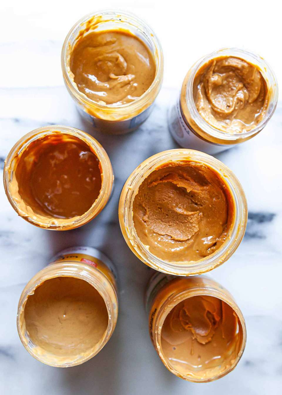 Best way to stir a jar of natural peanut buter
