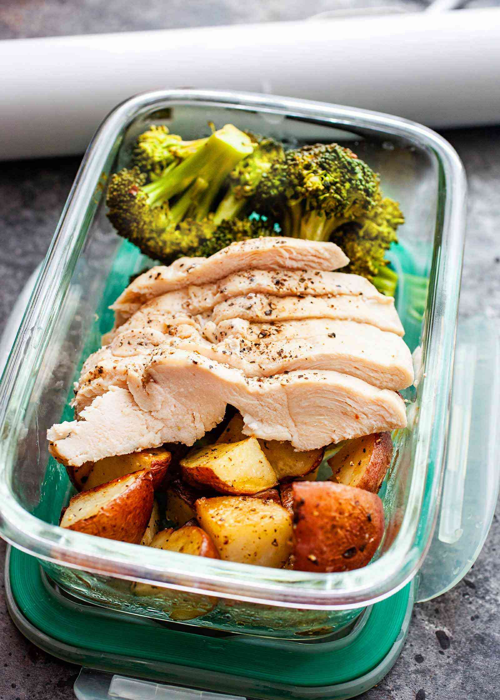 Easy Chicken and Broccoli Sous Vide