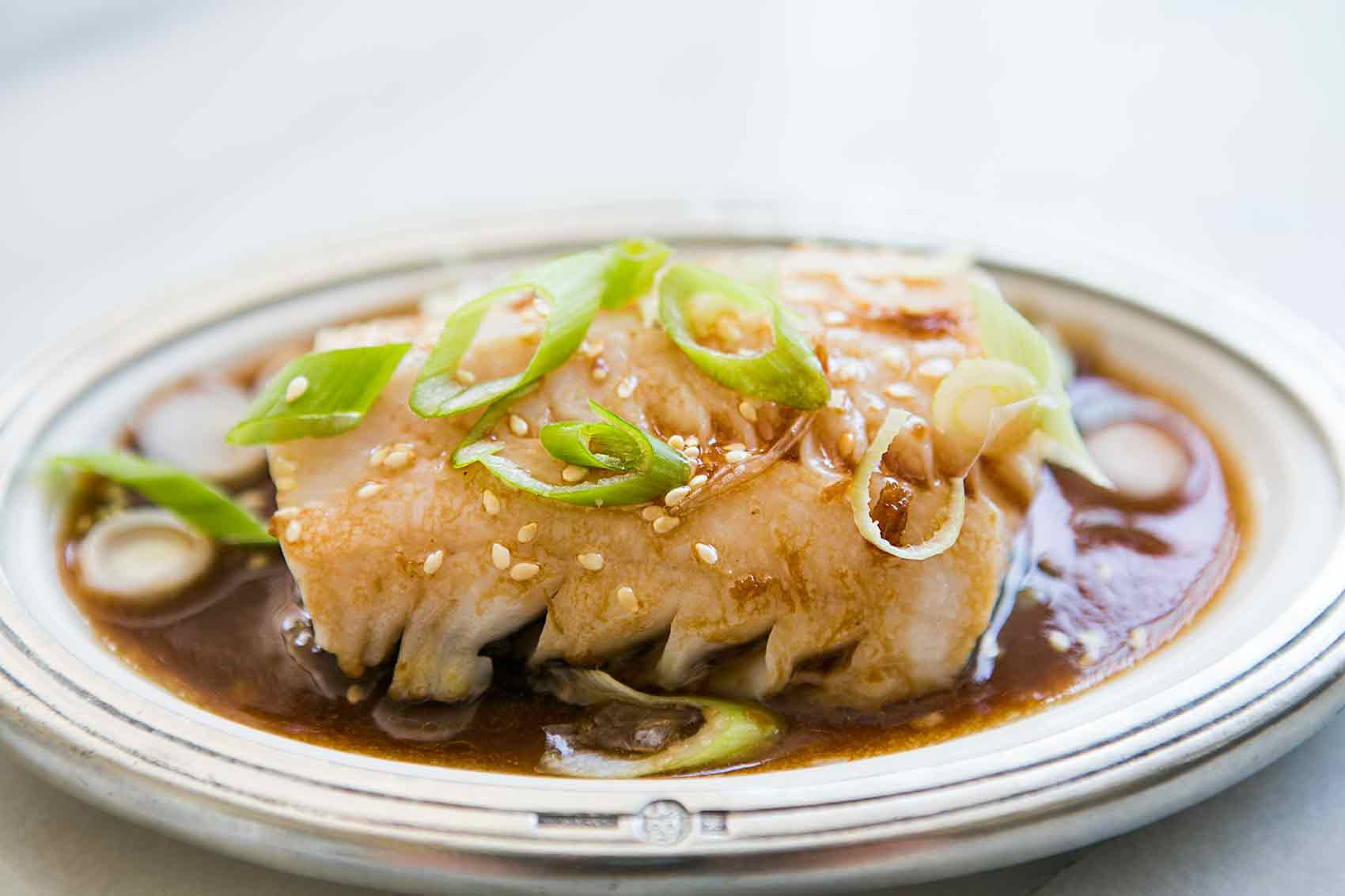 Pan Simmered Pacific Black Cod Recipe