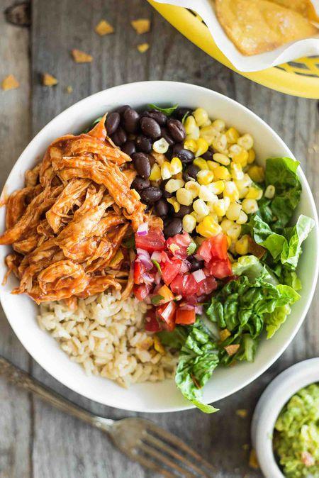 Bbq Chicken Burrito Bowl Recipe