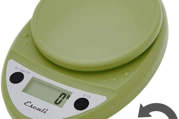 Escali kitchen food scale