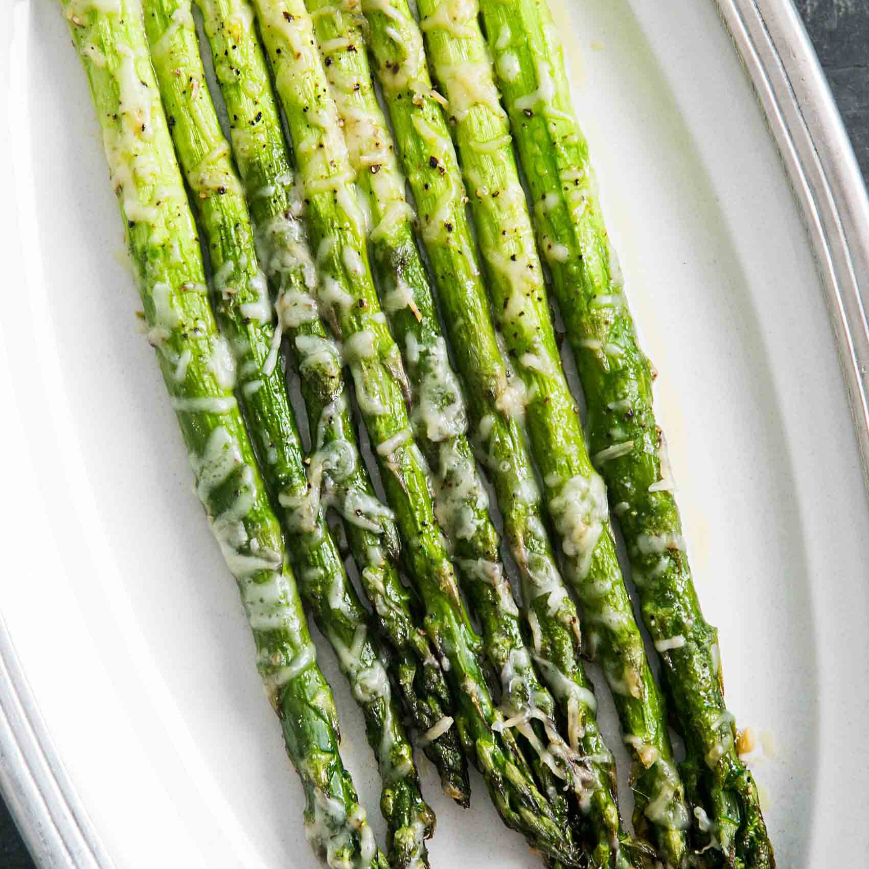 Baked Asparagus With Parmesan Recipe