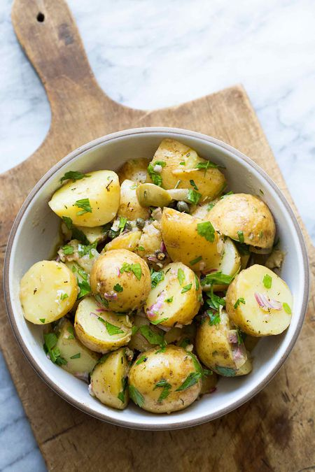 Recipe For Potato Salad With Capers