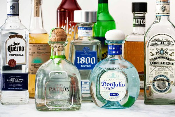 various bottles of tequila