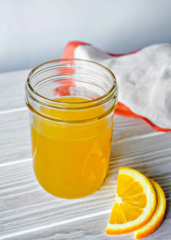 Bitter orange and spice squash syrup