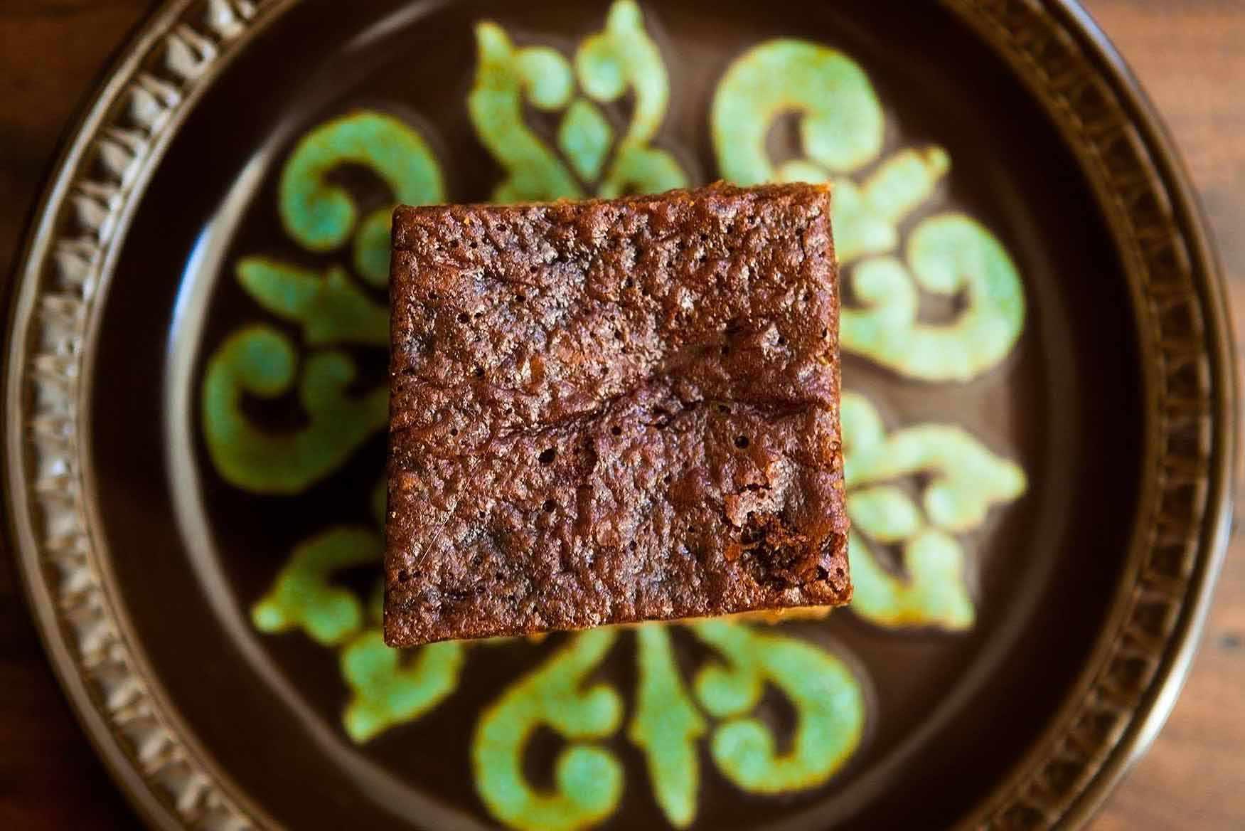 Triple Gingerbread Cake